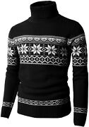 H2h Mens Casual Slim Fit Knitted Pullover Sweaters Thermal Of Various Christmas