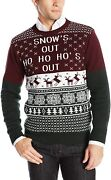 Ugly Christmas Sweater Company Men's Assorted Crew Neck Sweaters With Fun Xmas I