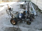 Graco Line Lazer Iii 3900 Featuring Pumping System Ez Bead System 2 Gun Tested