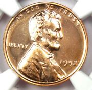 1952 Proof Lincoln Wheat Cent Penny 1c - Ngc Pr68 Rd Pf68 - 1,500 Value