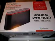 Lumations Christmas Holiday Symphony Conductor Speaker Music Light Show