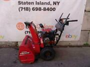 Honda Hs928 Snow Blower 9hp 28 Inches Wide Starts And Runs Fine 5