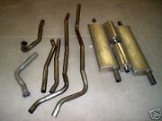 1952-1953 Cadillac 60s Fleetwood Exhaust System Aluminized Without Resonators
