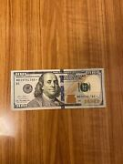 100 Dollar Bill Star Note Series 2013 Rare Great Condition