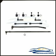 Fit For 1992-97 Ford F-350 4wd10x Front Steering Suspension Ball Joints Tie Rods