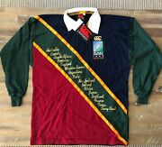 1995 Rugby World Cup Limited Edition Official Canterbury Jersey W/certificate