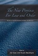 New Province For Law And Order 100 Years Of Australian By Joe Isaac And Stuart