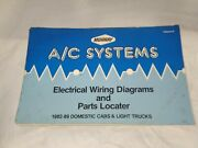 Murray Domestic Ac Systems Electrical Wiring Diagrams And Parts Locator 1982-89