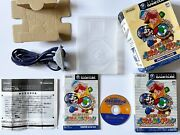 Gc Nintendo Puzzle Collection W/gba Cable Game Cube Gamecube Box Japan Jp