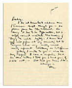 Dwight Eisenhower Wwii Letter Signed To Mamie And039and039i Love U