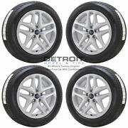 17 Ford Fusion Silver Wheels Rims And Tires Oem Set 4 2013-2016 3957