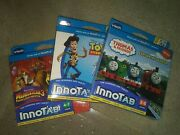 Lot Of 3 Vtech Innotab Games - New In Box Thomasandfriends,toystory,madagascar3