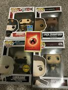 Funko Pop Johnny Rico Lorraine Jack Crawford Officer K Chase Sdcc Lot Exclusive
