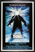 The Thing ✯ Cinemasterpieces Huge 40x60 Movie Poster 1982 Horror Monster Creepy