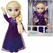 Disney Frozen 2 Toddler Elsa Doll Sings Into The Unknow Talks And Lights Up