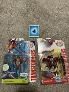 Starscream And Windblade Lot Transformers Robots In Disguise Warrior Rid G1 Colors