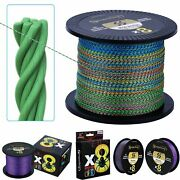 Pe Braided Fishing Line 8 Strands Super Strong Spinning Casting Big Game Tackle