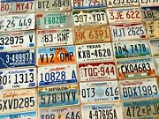 Starter Pack Of 10 License Plates From 10 Different States In Craft Condition