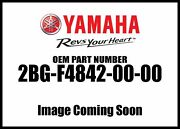 Yamaha Grizzly 4wd Hunter Rear Carrier 2bg-f4842-00-00 New Oem
