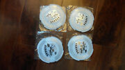 1959 59 1960 60 Cadillac Hubcaps Center Medallions Set 4 - New