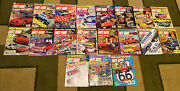 19 Issues Of 1986-1987 Vintage Hot Rod Magazine Classic American Muscle Corvette