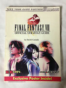Final Fantasy Viii Official Strategy Guide / Kb Toys Exclusive Brady Games 1999