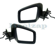 11-12 Benz Gl And Ml-class Mirror Power Heated W/signal And Puddle Light Set Pair