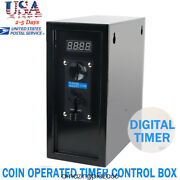 Coin Operated Timer Control Power Supply Box To Control Electronicl Device Good