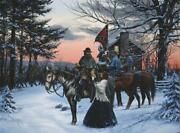 John Paul Strain, The Parting Giclee Canvas, Unframed, Classic Ed. A.p. Hill