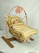 Antique A.m Armand Marseille Dream Baby Bisque Doll Germany Clothes 6½