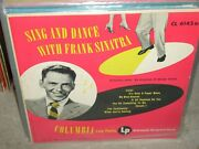 Frank Sinatra Sing And Dance With Frank Jazz 10 Columbia 6143 - Rare -