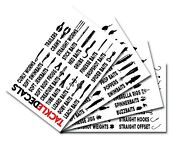 Tackle Box Labels By Tackle Decals - Organize Your Fishing Gear