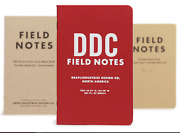 Fn-38 Field Notes Notebooks 10th Tenth Anniversary Edition 3-pack Memo Books
