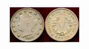 1912-s 5c-scarce In This Grade-low Mintage- Liberty Nickel++andnbsp