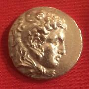 Tetradrachm Silver Coin Alexander The Great 17g Free Shipping From Japan 8032n
