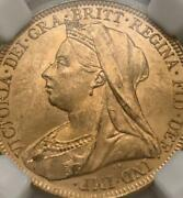 Victoria Sovereign Gold Coin Austoralia 1895 7.99g Free Shipping From Jp 8033n