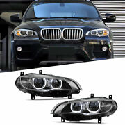 For Bmw X6 E71 Led Headlights Drl 2008-2014 Replace Oem Halogen Sequential