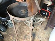 Vintage Blacksmith Forge With Blower