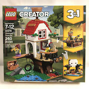 Lego Creator 31078 Treehouse Treasures 260 Pieces Pirate Ship Skull Cave New