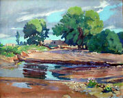 20 Off New Mexico Painting Tom Wilder And039in Jemez Valleyand039 1938 16 X 20