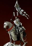 Tin Toy Soldier 75 Mm.superb Elite Luxury Painting In St.petersburg.teutonic