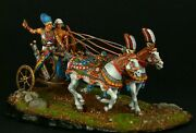 Tin Toy Soldier 54 Mm.superb Elite Luxury Painting In St.petersburg.egyptian