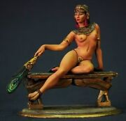 Tin Toy Soldier 80 Mm Elite Painting In St.petersburg.girl Egyptian Princess