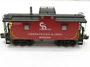 Right Of Way Rol-3050sy Chesapeake And Ohio Steel Caboose 90296 Nib