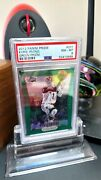 2012-13 Kyrie Irving Rc Rookie Green Prizm Refractor 201 Psa 8 Rare And Awesome