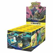 Pokemon Team Up Build And Battle Box Prerelease Kit Sealed Display Of 10