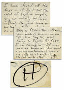 Hunter Thompson Autograph Letter Signed Re Shooting