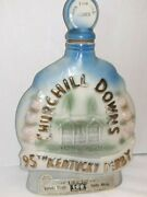 Vintage 1969 Jim Beam Decanter Bottle 95th Run For The Roses Kentucky Derby