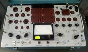 Ł3-3 Tube Tester Cccp Complet + Cartes / T 5592