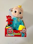 Cocomelon Musical Bedtime Jj Doll, With A Soft, Plush Tummy